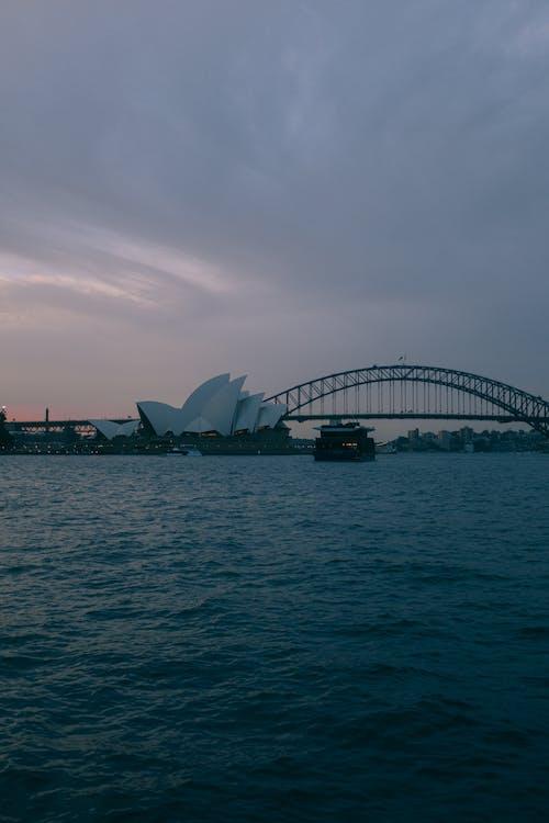 Immagine gratuita di architettura, australia, famoso punto di riferimento, ponte