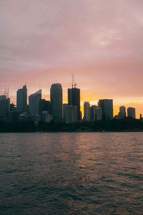 城市, 塔, 天空, 天際線 的 免费素材图片