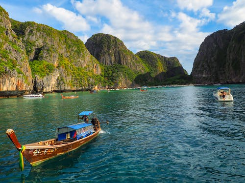 คลังภาพถ่ายฟรี ของ กระบี่, การท่องเที่ยว, การเดินทาง, ความงาม