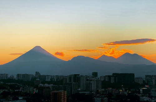 Free stock photo of active volcano, guatemala, guatemala city