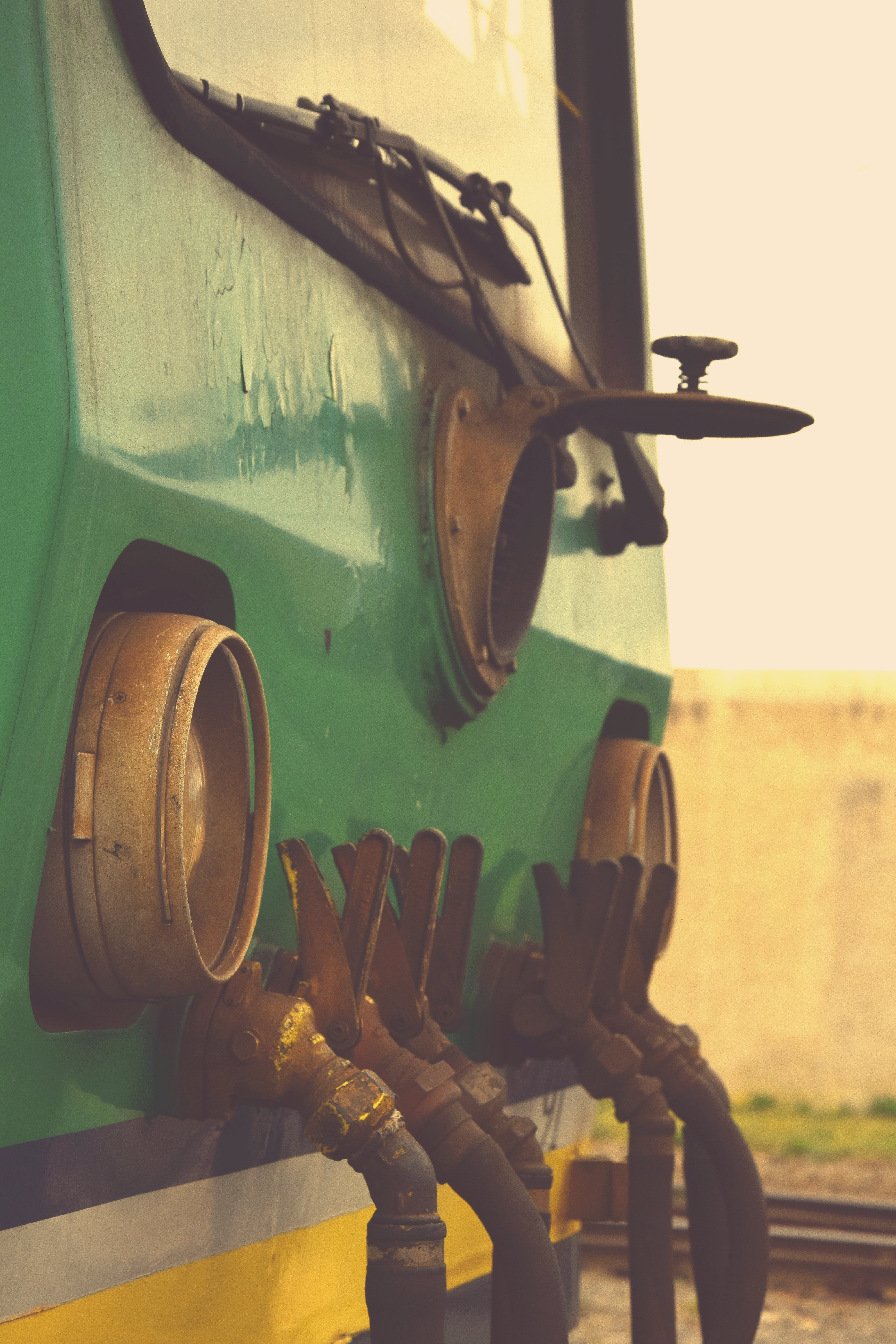 Free stock photo of 70's, muzzle train, old station, old train