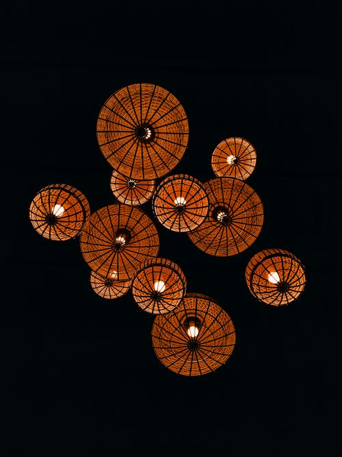 Traditional Lighted Paper Lantern