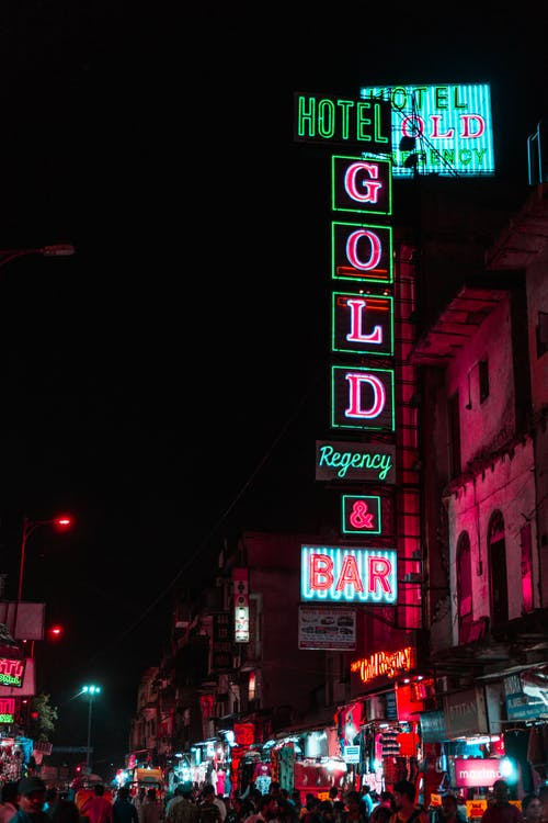 Free stock photo of bar sign, billboard, bright, business