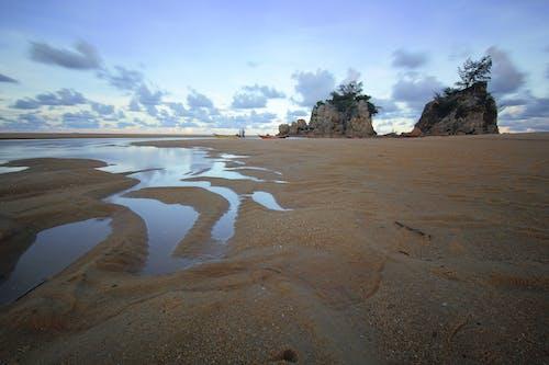 Безкоштовне стокове фото на тему «берег, берег моря, вечір, відлив»