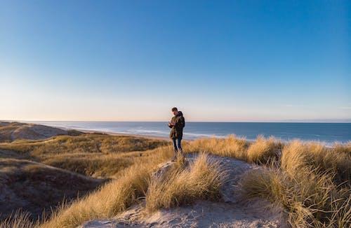 Photos gratuites de bleu, bord de mer, ciel, ciel bleu