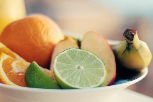 Free stock photo of healthy, apple, fruits, orange