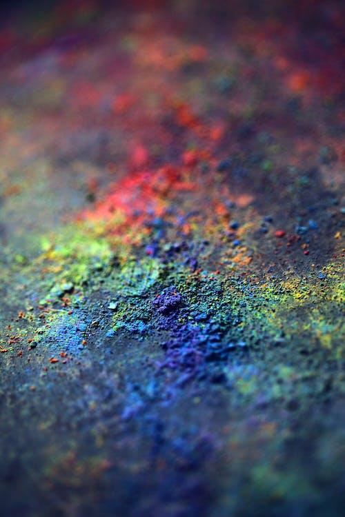 Foto profissional grátis de abstrair, abstrato, arco-íris, arte