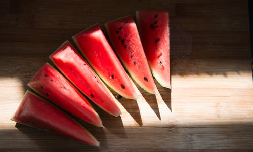 Free stock photo of red, summer, sunshine, watermelon