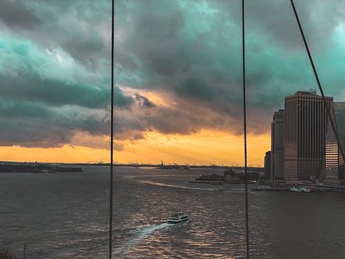 Gratis stockfoto met amerika, bewolkte hemel, cruise
