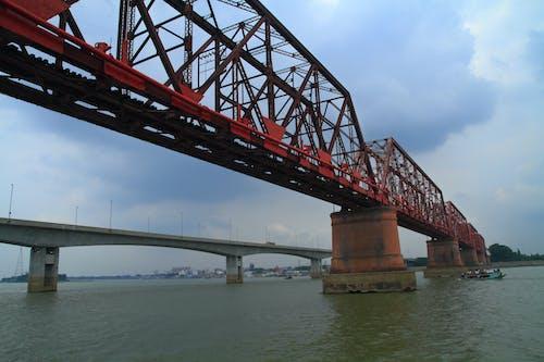 Free stock photo of bangladesh, boat, bridge, bridges