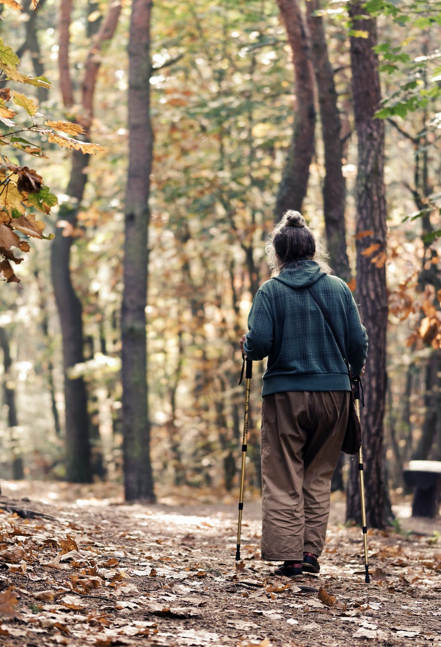 A brief guide to the different types of walking aid
