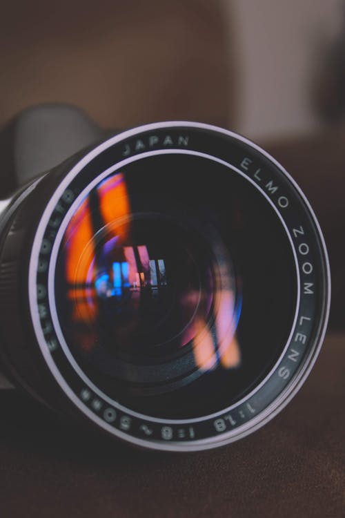 Black Nikon Camera Lens in Close Up Photography