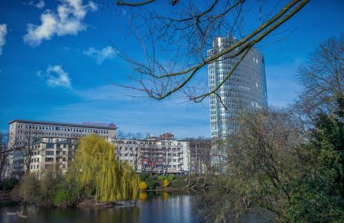Photos gratuites de building, ciel bleu, cityscrapers, édition photo
