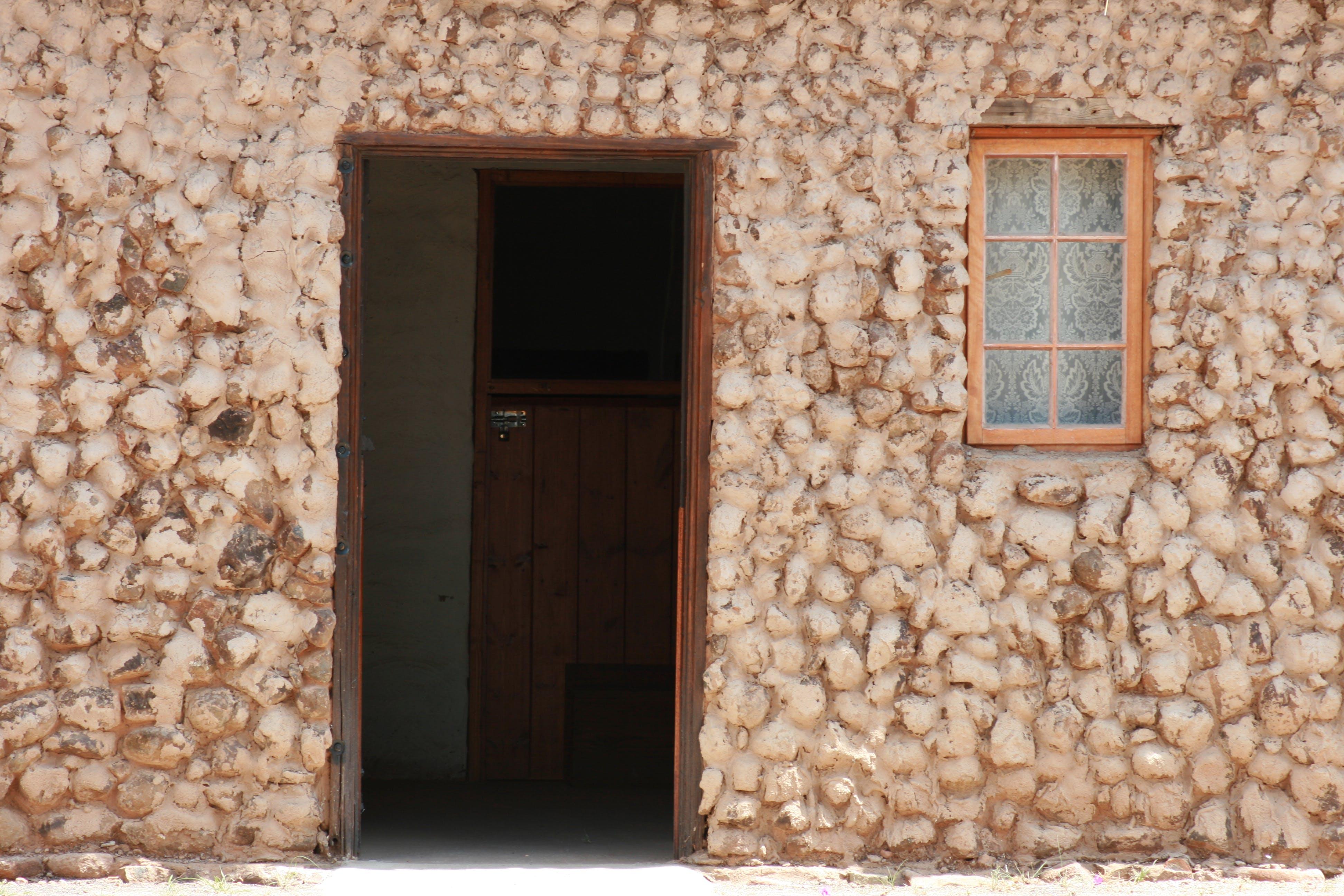 Free stock photo of house, door, window, country
