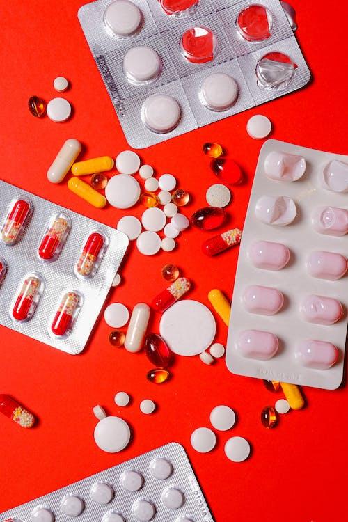 과용하다, 마약, 블리스 터 팩, 비타민의 무료 스톡 사진