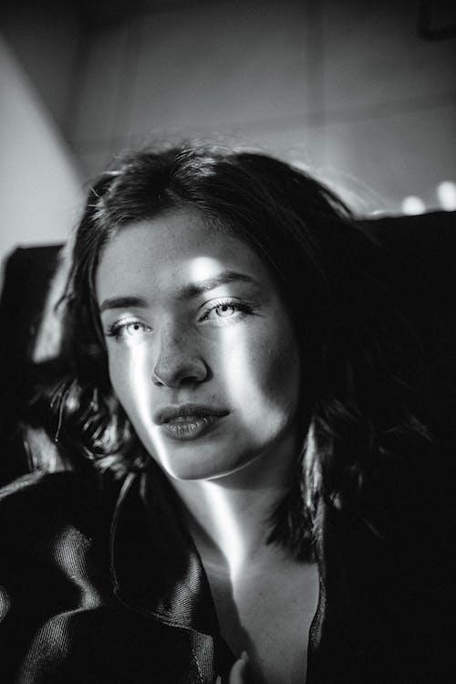 Monochrome Photography of Woman