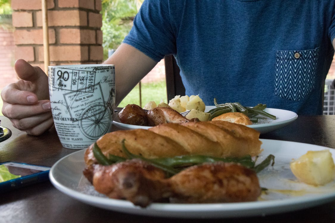 午餐, 咖啡豆, 大蒜