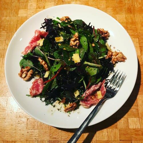 Free stock photo of fresh salad