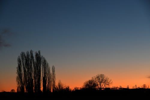 Free stock photo of clear sky, colors, countryside, evening