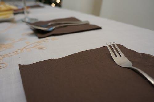 Free stock photo of dinner, fork, restaurant