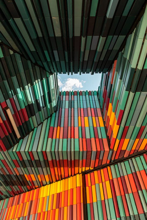 Photo Of A Colorful Ceiling