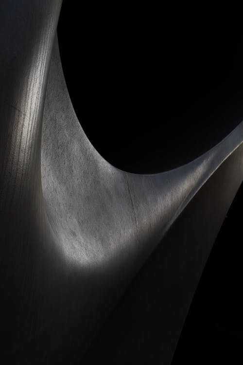 Photo of A Abstract Art In Black Background