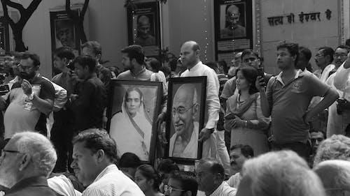Free stock photo of gandhi, group, india