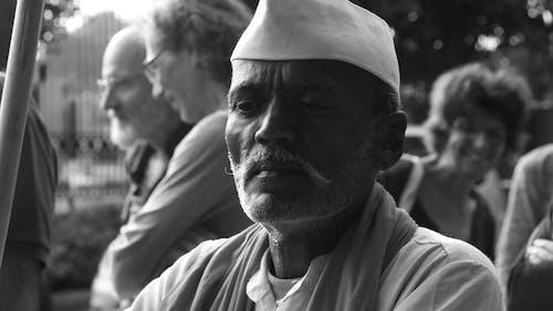 Free stock photo of india, old man, sri lanka