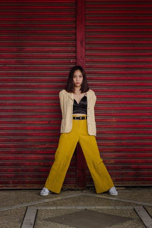 Photo Of Woman Wearing Yellow Pants