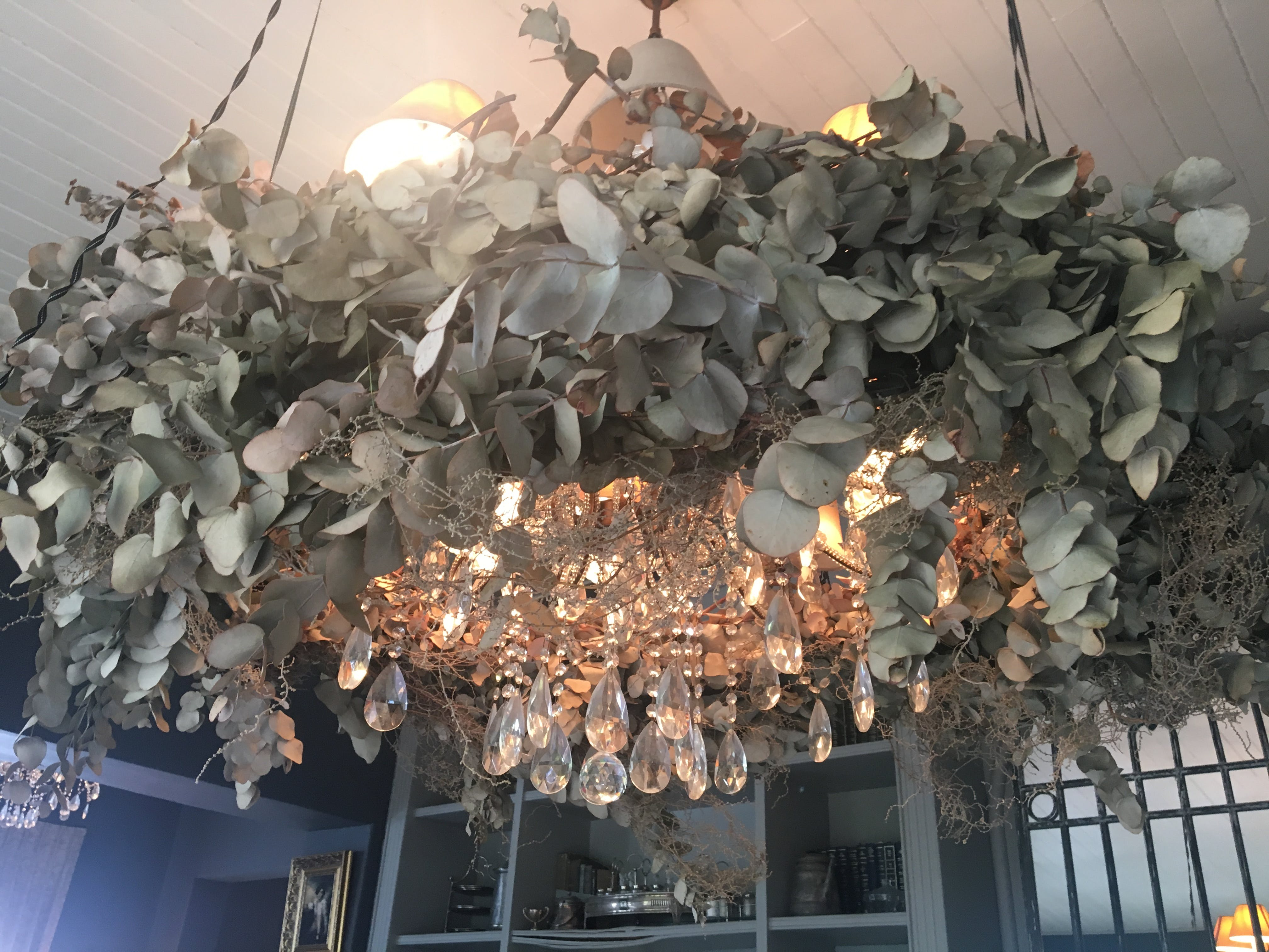 Free stock photo of art, chandelier, dry flowers, how to