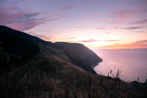 Immagine gratuita di ocean cliffs, scogliera, tramonto