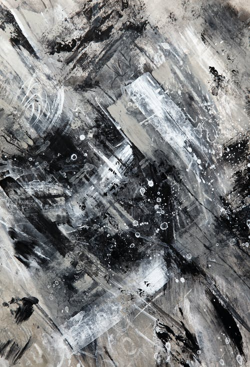 Foto stok gratis abstrak, abu, Abu-abu, acrylic