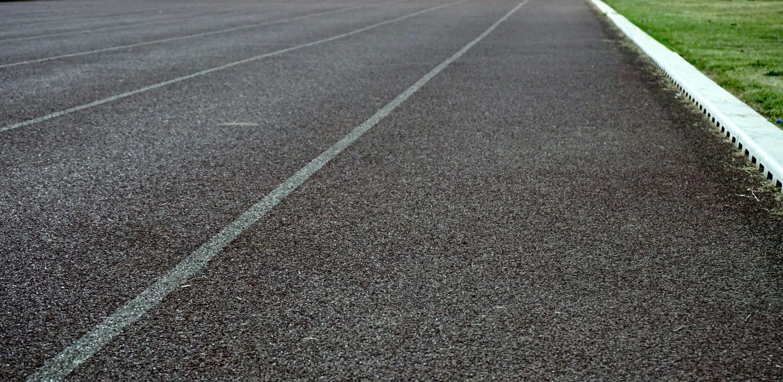 asphalt, grass, highway
