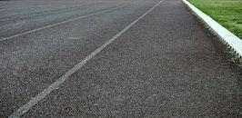 road, texture, grass