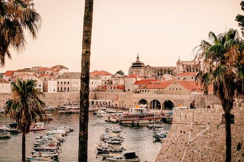 Free stock photo of ancient, boats, city