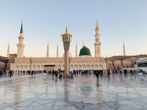 Immagine gratuita di grande moschea, madina, masjid nabwi