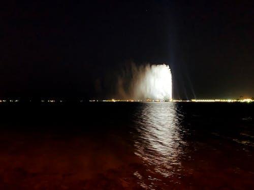 Immagine gratuita di fontana, fontana del mare, jeddah fountain, mare