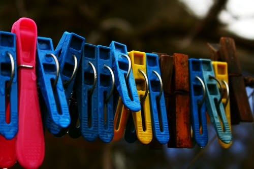 Free stock photo of after the rain, clothespins, countryside, province