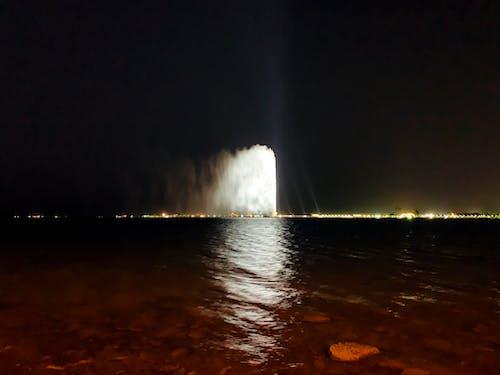 Immagine gratuita di Fontana di acqua, jeddah fountain