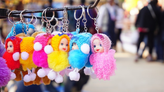 Free stock photo of people, cute, display, colorful