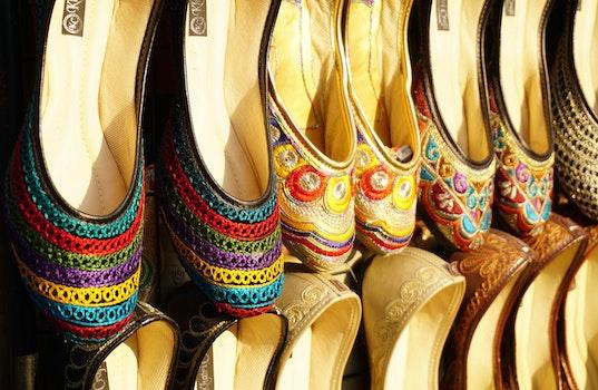 Free stock photo of fashion, creative, shoes, colorful
