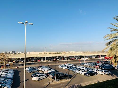 Immagine gratuita di aeroporto, aeroporto internazionale, area di parcheggio, parcheggio auto