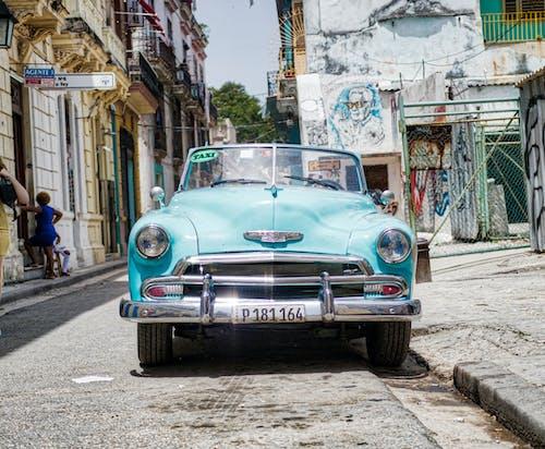Free stock photo of car, cuba, cuban car