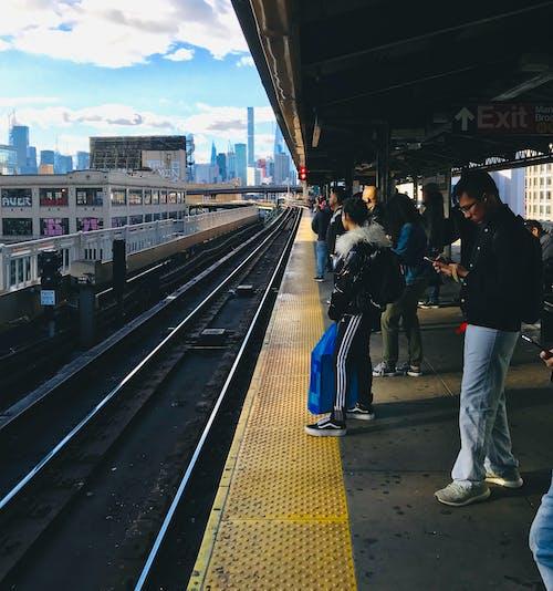 Free stock photo of new york city, subway, train