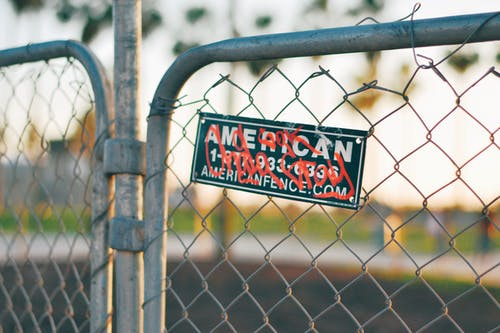 Free stock photo of american, beach sunset, fence