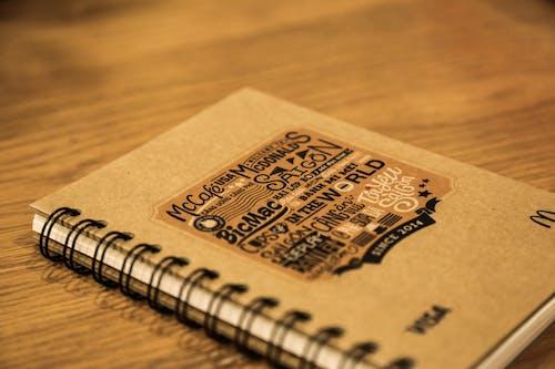 Mcdonald Ring Bind Book on Table