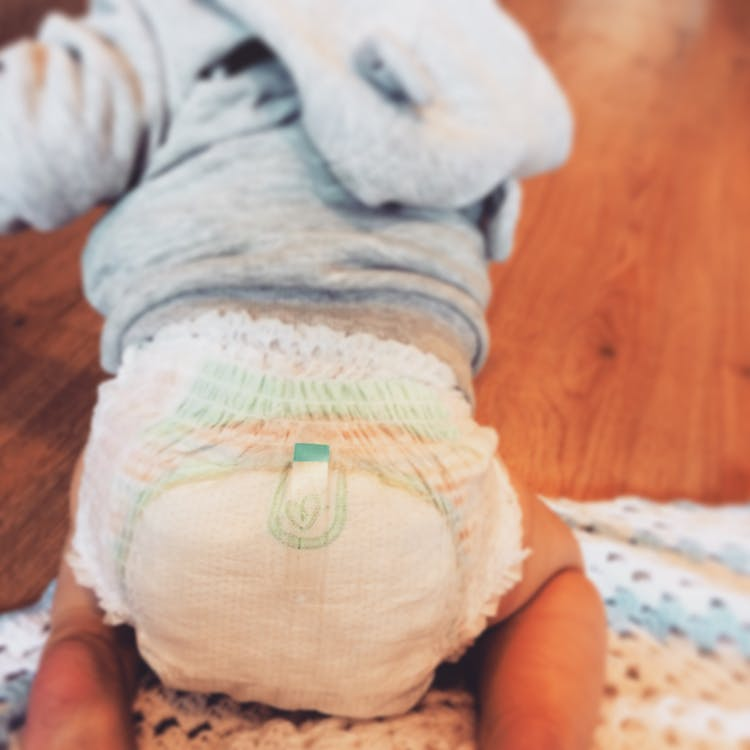 Free stock photo of baby bum, cute, diaper
