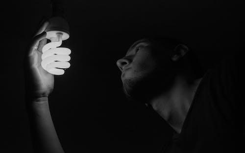Free stock photo of black and white, dark, dark background, deep