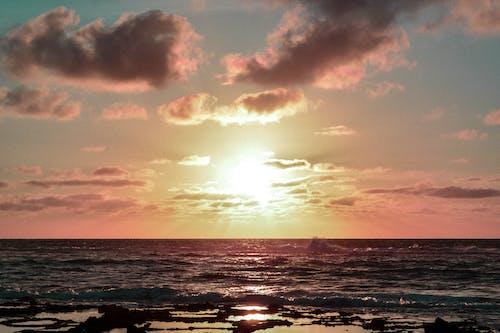 Free stock photo of beach, beautiful, Beautiful sunset, calm