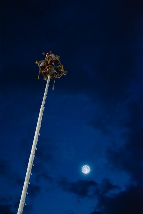 Free stock photo of full moon, mexico, moon, voladores veracruz